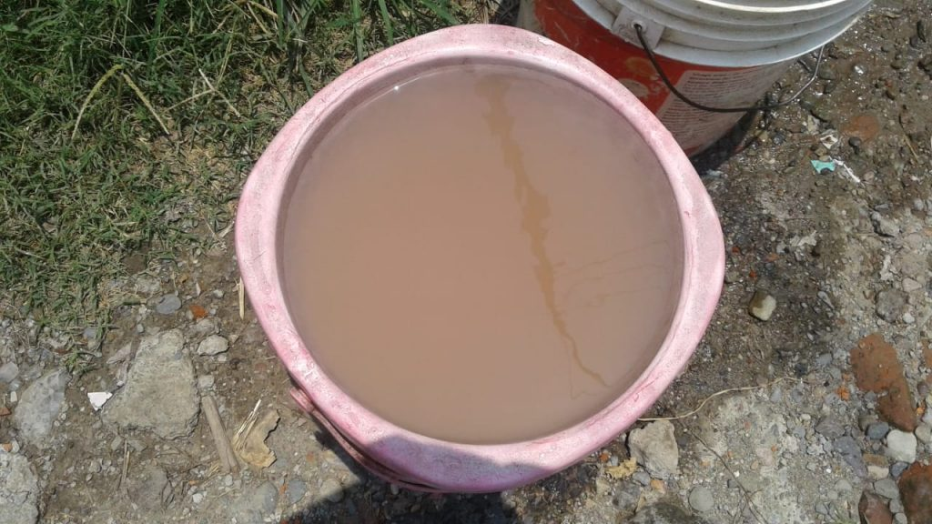 Uttarakhand Jal Sansthaan is Supplying dirty water