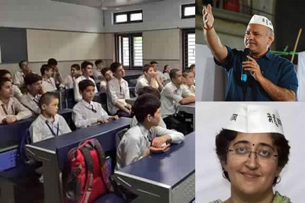 सरकारी स्कूलों में कसम केजरीवाल को लेकर बवाल