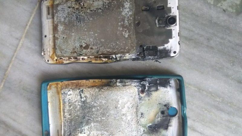 फ़ोन चार्जिंग के दौरान विस्फोट, बच्चे की मौत