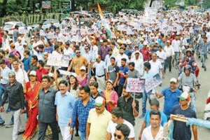 Harish Rawat Rally Haldwani