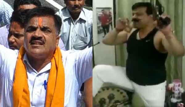 BJP is applying double standard in Thukral case.