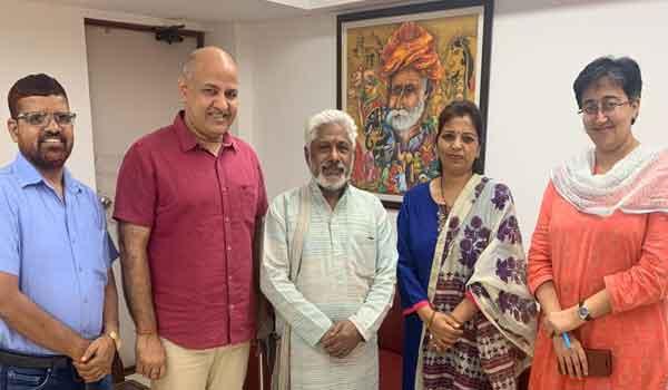 Heera Singh Rana become Vice Chairman of Delhi Uttarakhand Akedami.